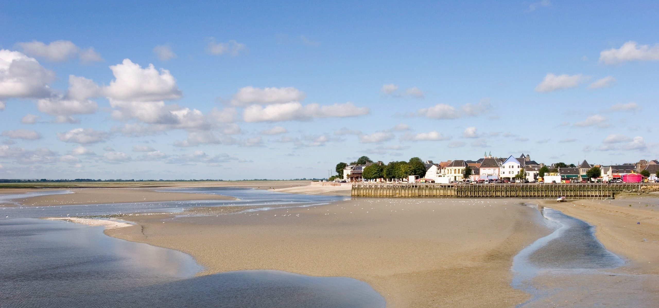 Plage-Le Crotoy-Baiedesomme