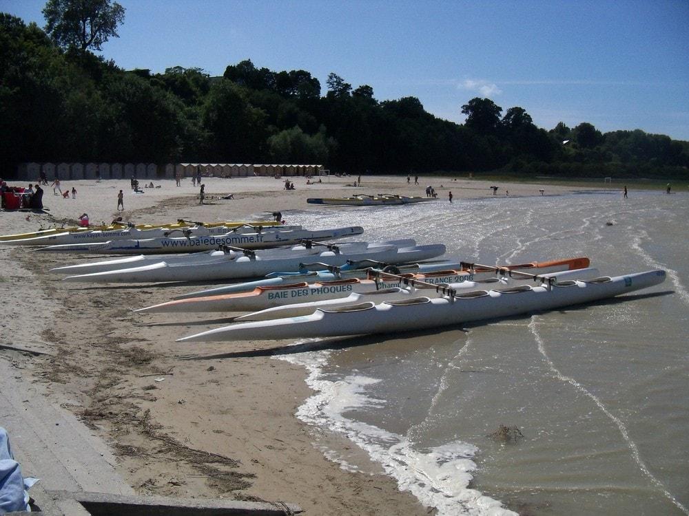 Pirogue et kayak de mer en Baie de Somme